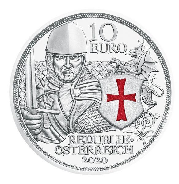 10 Euro Österreich Tapferkeit 2020 Silber PP
