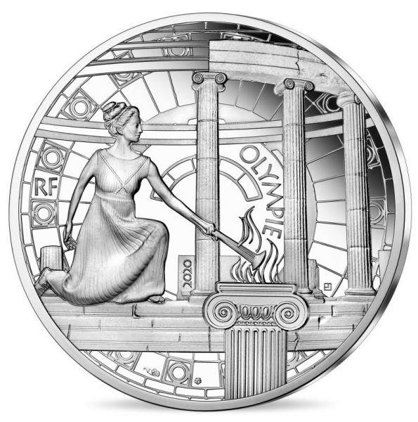 10 Euro Frankreich Die Drei Berge - Olymp 2020 Silber PP