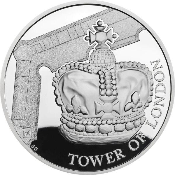 """5 £ Großbrit. """"Die Kronjuwelen"""" 2019 Silber PP"""