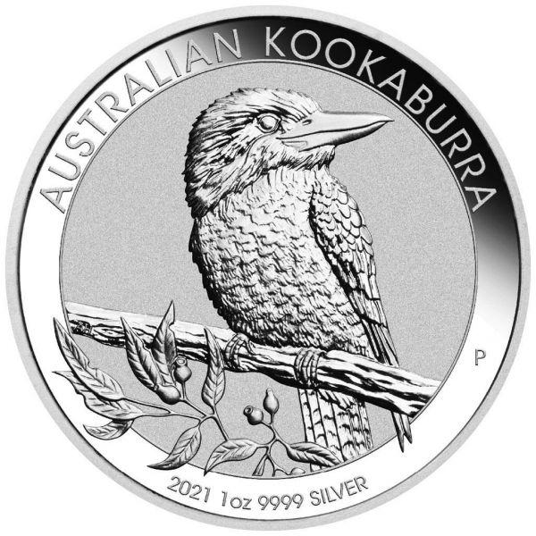 1 Dollar Australien Kookaburra 2021 1oz Silber St