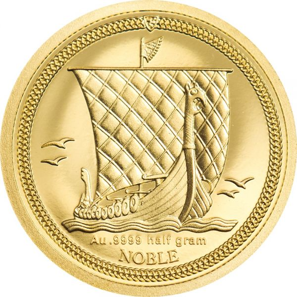 1/64 Noble Isle of Man Wikingerschiff 2020 Gold PP