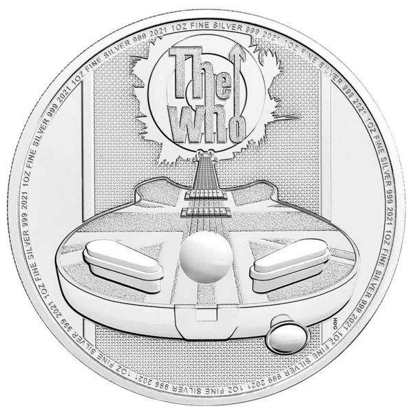 2 Pfund Großbritannien The Who - Musiklegenden 2021 Silber St