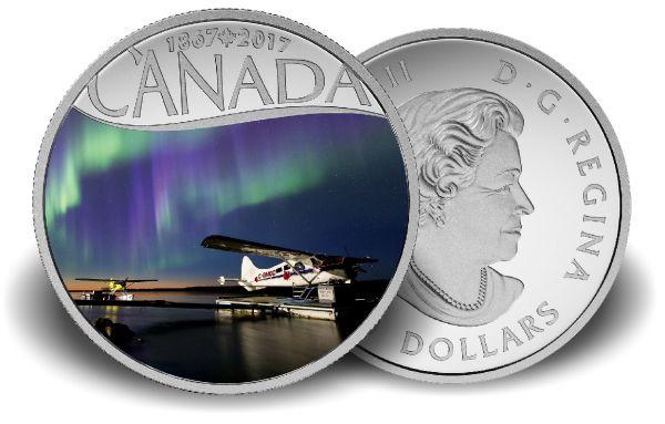 "10 $ Kanada ""Mackenzie River"" 2017 PP Ag -farbig-"