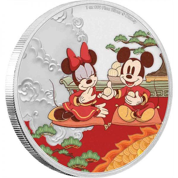 2 Dollar Niue Disney™ Jahr der Maus - Glück 2020 Silber PP