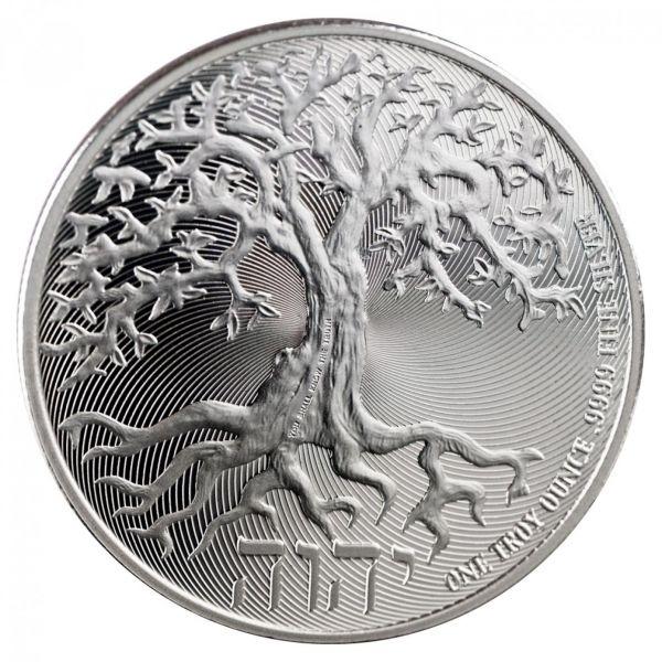 "2 Dollar Niue ""Baum des Lebens"" 2018 Silber St"