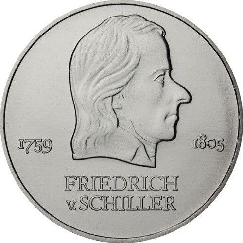 20 Mark DDR Friedrich v. Schiller 1972 Cn St