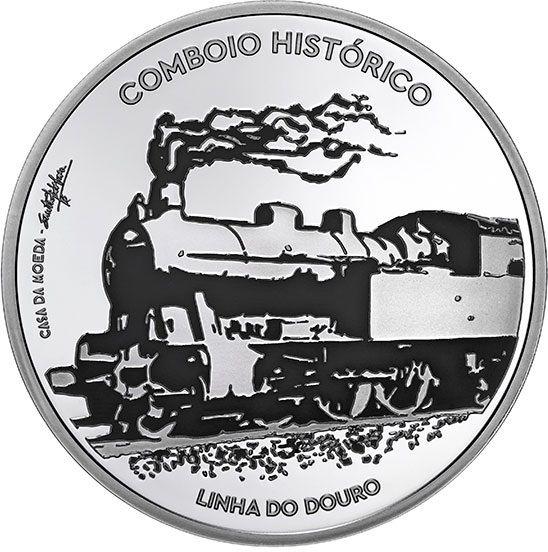 7,50 € Portugal Douro Eisenbahn 2020 Silber PP