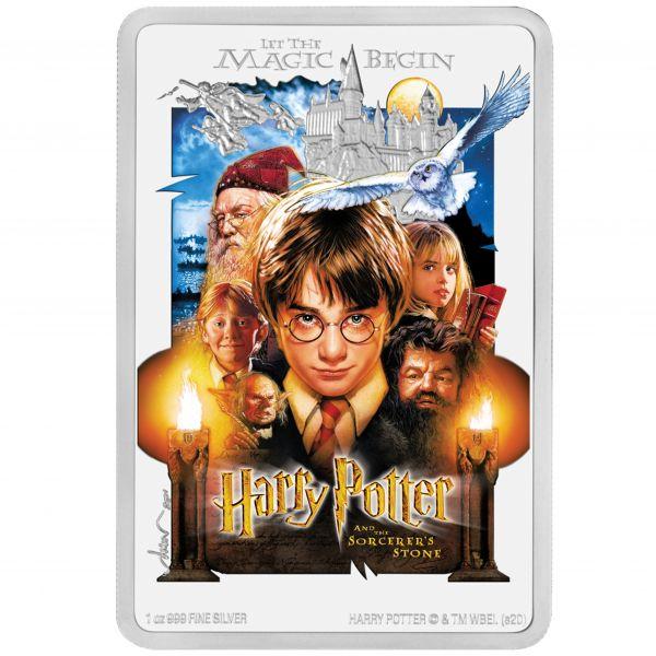 2 Dollar Niue Harry Potter - Stein der Weisen 2020 Silber PP