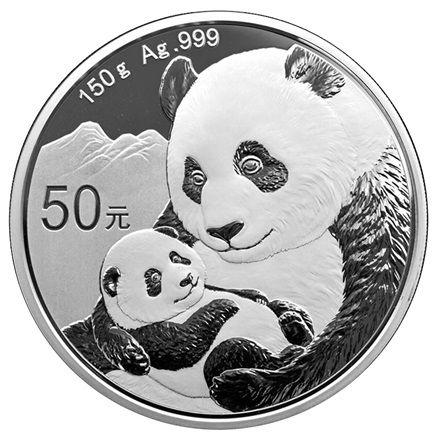 "50 CNY China ""Panda"" 2019 Silber PP"
