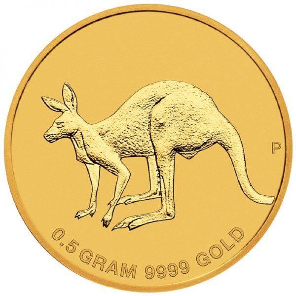 """2 $ Australien """"Mini Roo"""" 2019 Gold St"""