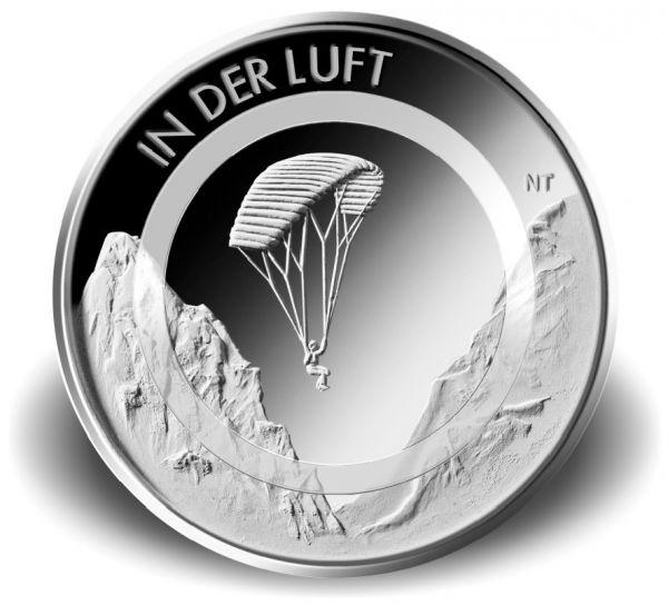 """10 € DE """"In der Luft"""" 2018 CN St"""