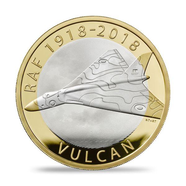 "2 £ Großbrit. ""Royal Air Force - Vulcan"" 2018 Silber PP"