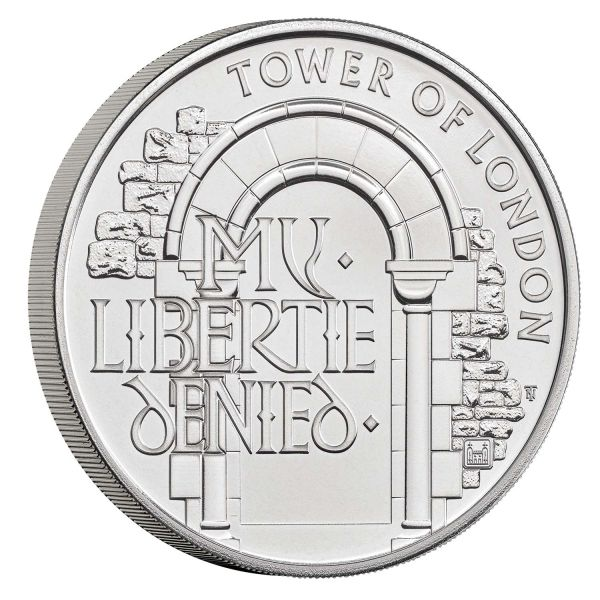 5 Pfund Großbritannien Staatsgefängnis 2020 CuNi St