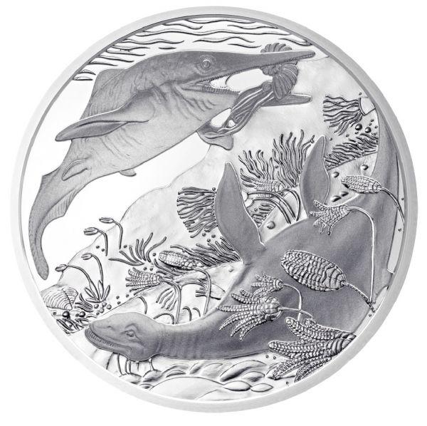 """20 € Österreich """"Leben im Wasser - Trias"""" 2013 Silber PP"""