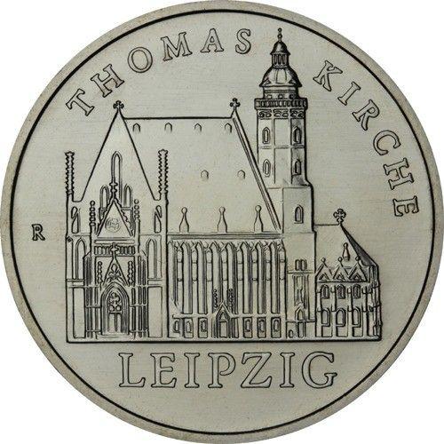 5 Mark DDR Thomaskirche Leipzig 1984 Cn St