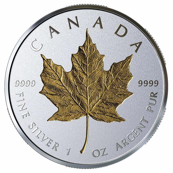 """20 $ Kanada """"40 J. Gold Maple Leaf"""" 2019 Silber PP"""