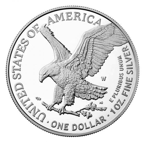 1 Dollar USA Silver Eagle 2021 Silber PP NEU