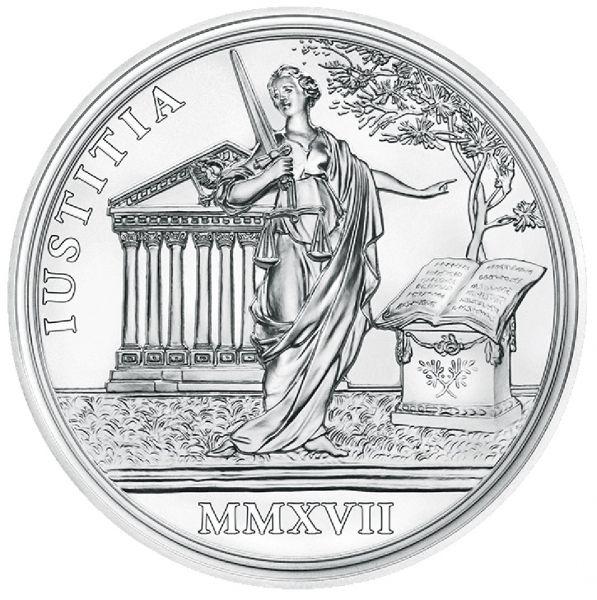 """20 € Österreich """"Maria Theresia - Gerechtigkeit u. Härte"""" #2 2017 Ag PP"""
