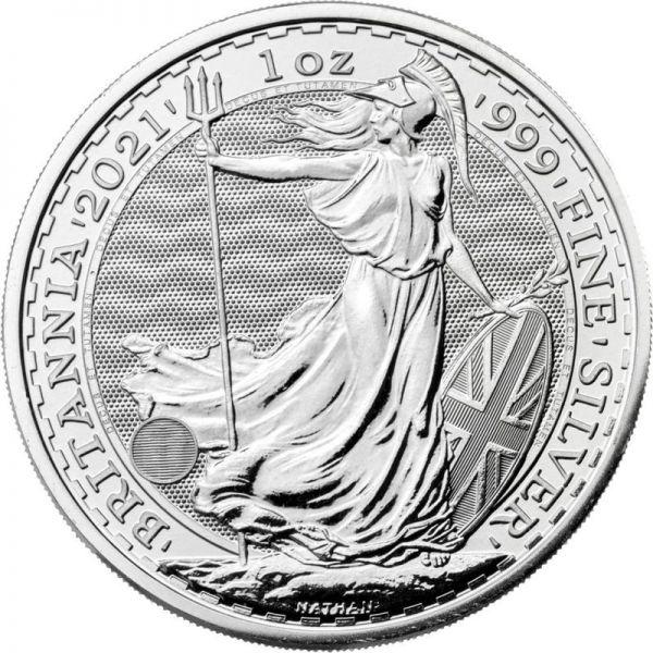 2 Pfund Großbrit. Britannia 2021 Silber St 1oz