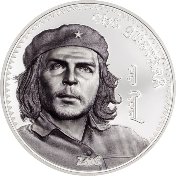 "1000 Togrog Mongolei ""Che Guevara"" 2018 Ag PP"