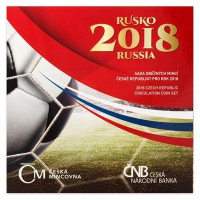 """88 Kr. Tschechien """"KMS Fussball-WM"""" 2018 CuNi St"""