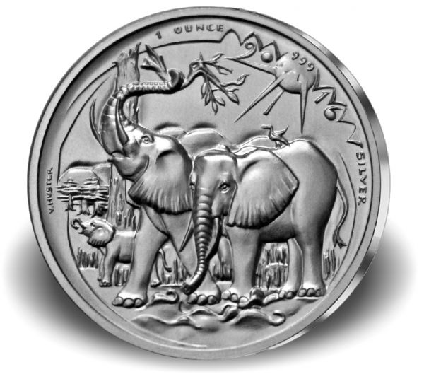 1000 CFA Francs Kamerun Wildlife V. H. 2016 Ag