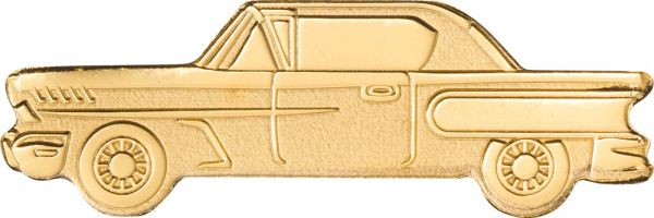 1 Dollar Palau Classic Car Gold SF