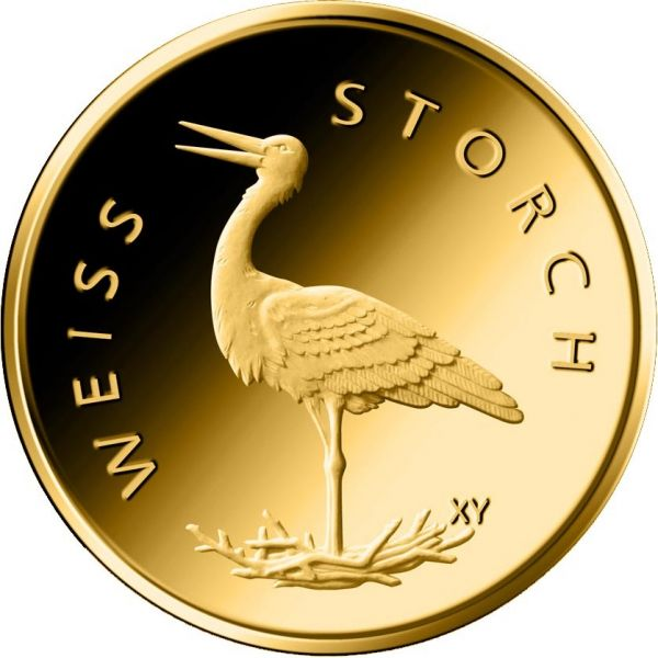 20 Euro DE Weißstorch 2020 Gold St 1/8oz -G-
