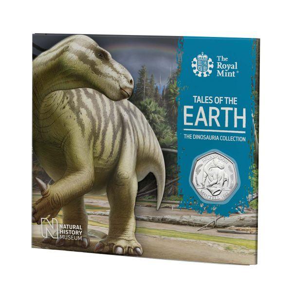50 Pence Großbritannien Iguanodon 2020 Cuni St