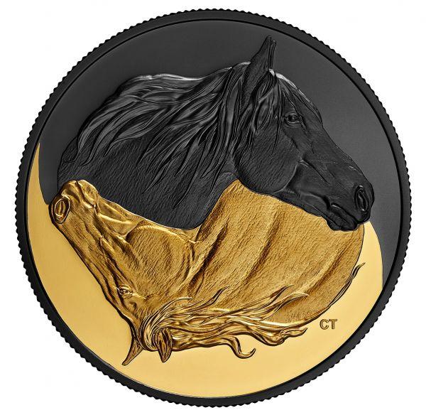 20 Dollar Kanada Das kanadische Pferd 2020 Silber PP