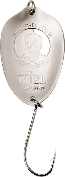 2 Dollar Cook Island Buel Spoon - Angelhaken 2020 Silber SF