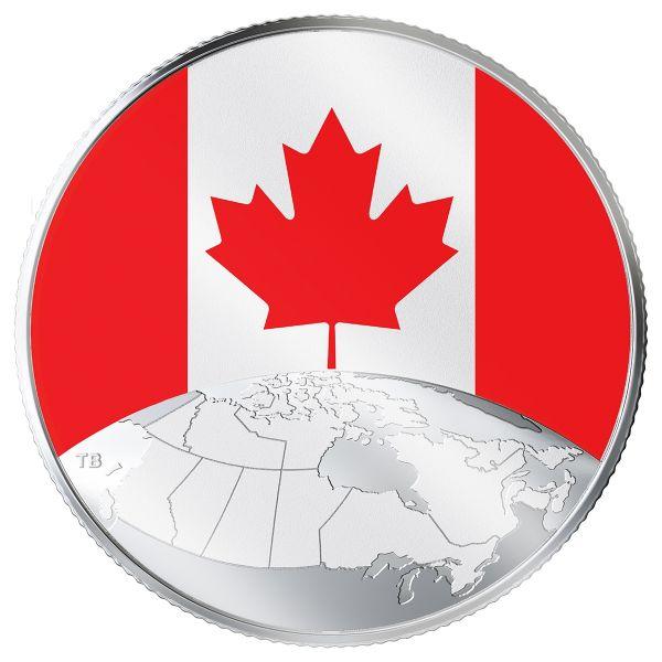 "5 $ Kanada ""Das ist Kanada!"" 2019 Silber St"