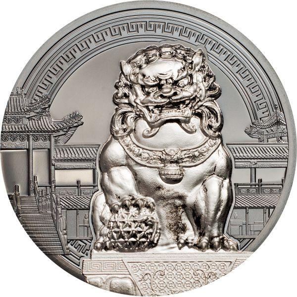 "2x 10 $ Palau ""Chinese Guardian Lions"" 2018 Ag BP"