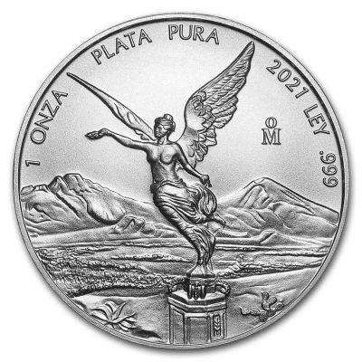 1 Onza Mexico Libertad - Siegesgöttin 2021 Silber St