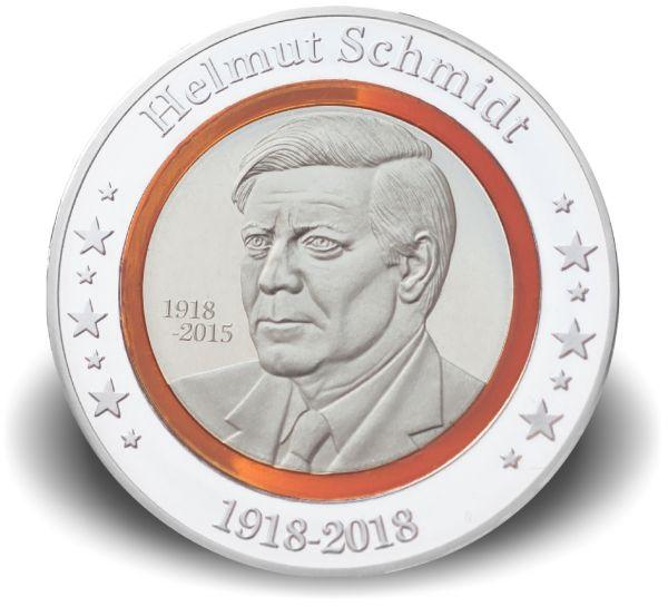 1000 CFA Kongo Helmut Schmidt Polymer-Ring CN-Ag PL 2018