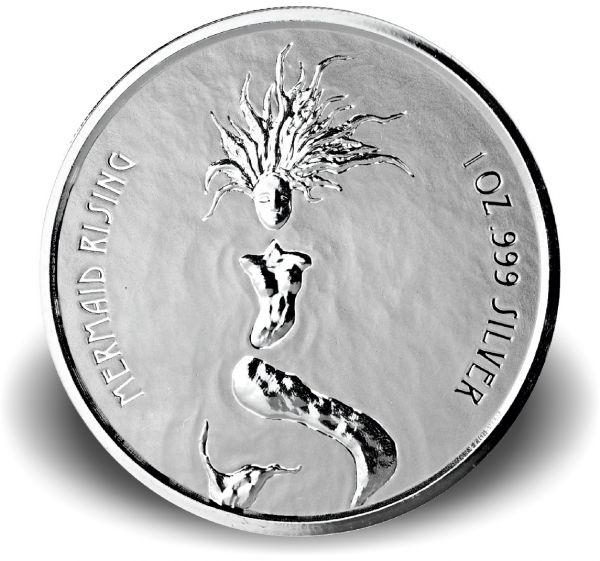 "1 Dollar Fiji ""Meerjungfrau"" 2018 Silber PL"