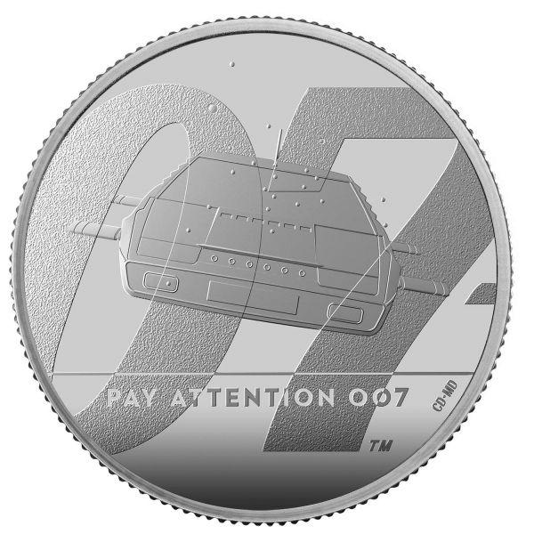 1 Pfund GB James Bond - Lotus Unterseeboot 2020 Silber PP #2