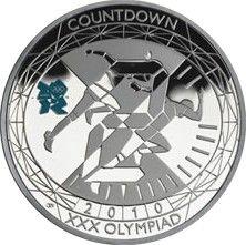 """5 £ Großbrit. """"Der Countdown -2-"""" 2010 CuNi St"""