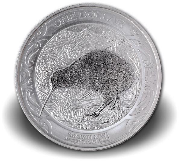 "1 Dollar Neuseeland ""Kiwi"" 2019 Silber St Blister"