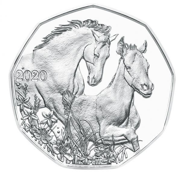 5 Euro Österreich Freunde fürs Leben 2020 Silber hgh