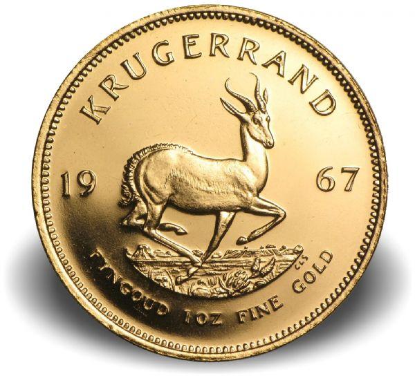 Krügerrand 1967 Gold 1oz