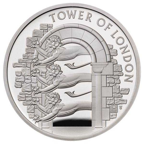 5 Pfund Großbritannien Royal Menagerie 2020 Silber PP
