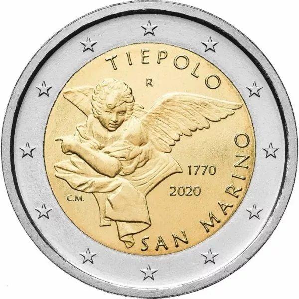2 Euro San Marino Giambattista Tiepolo 2020 CN St