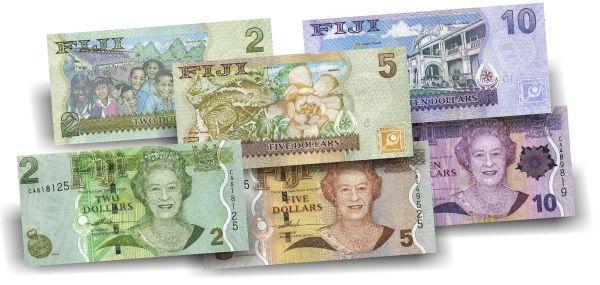 17 Dollar Fidschi Der letzte Queen Banknoten-Satz druckfrisch