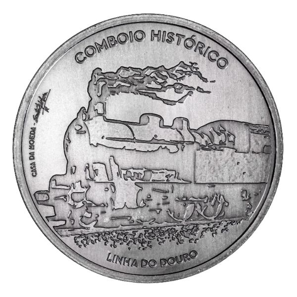 7,50 € Portugal Douro Eisenbahn 2020 Silber vz