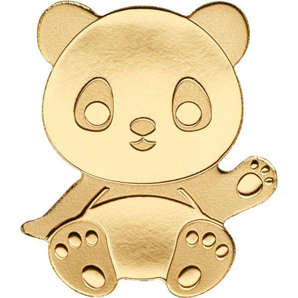 """1 $ Palau """"Panda"""" Gold St"""