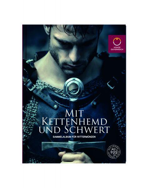 """Sammelalbum """"Mit Kettenhemd und Schwert"""" Österreich 2019"""