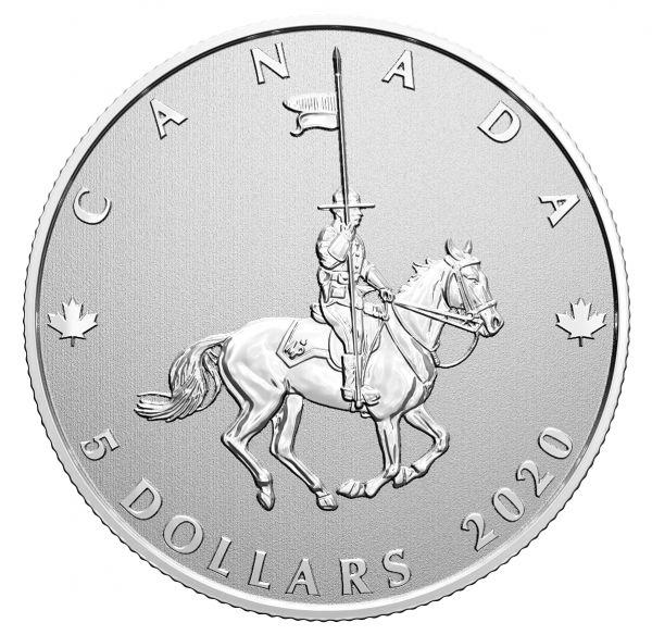 5 Dollar Kanada Momente zum Festhalten 2020 Silber St