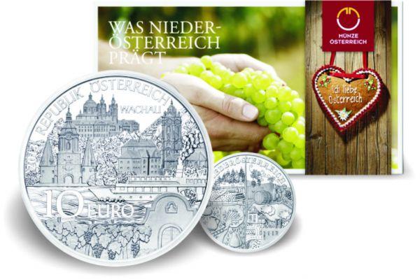 10 € Österreich in Kinderhand 2013 Ag hgh