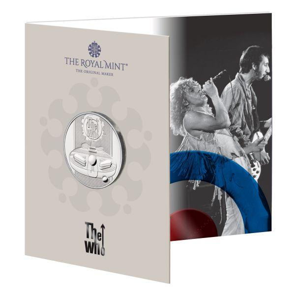 5 Pfund Großbritannien The Who - Musiklegenden 2021 Cuni St